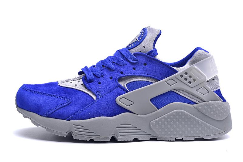 Nike Huarache Gris Bleu