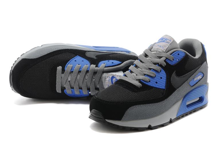 achat air max,nike air max 90 noir et bleu pour homme s5