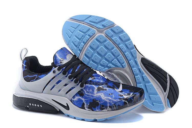 presto chaussure,2017 air presto bleu et noir homme
