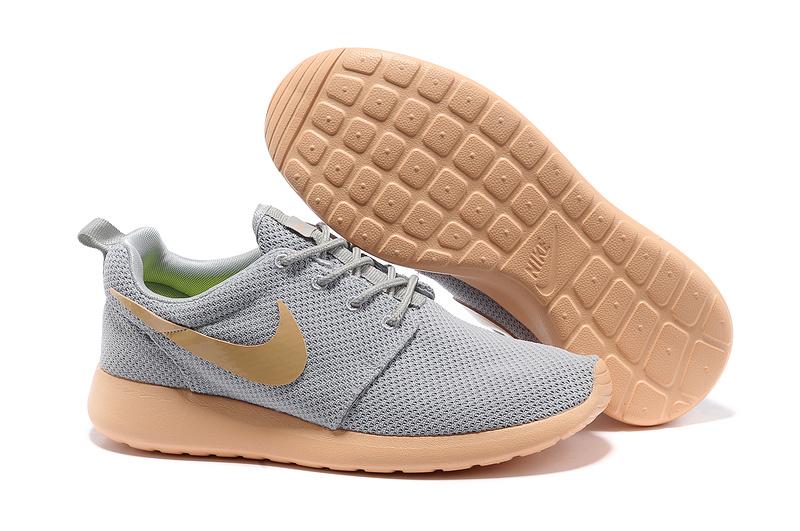 Nike Roshe Run Grise Et Orange