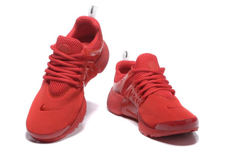 basket nike rouge