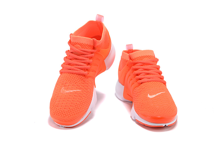 femme nike air presto flyknit ultra orange