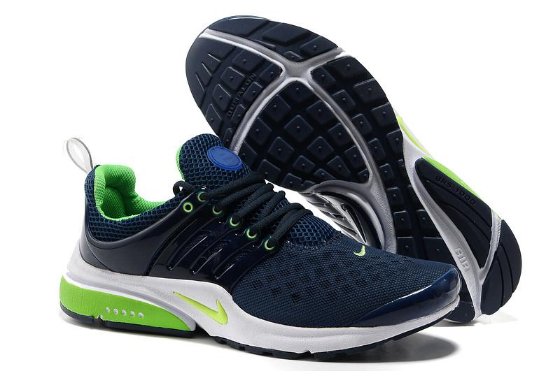 chaussure nike pour homme,nike air presto bleu et verte homme