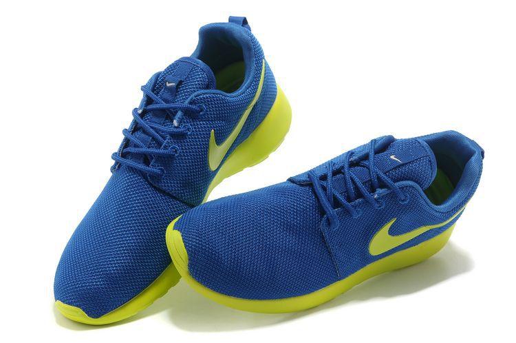 Nike Roshe Run Bleu Homme